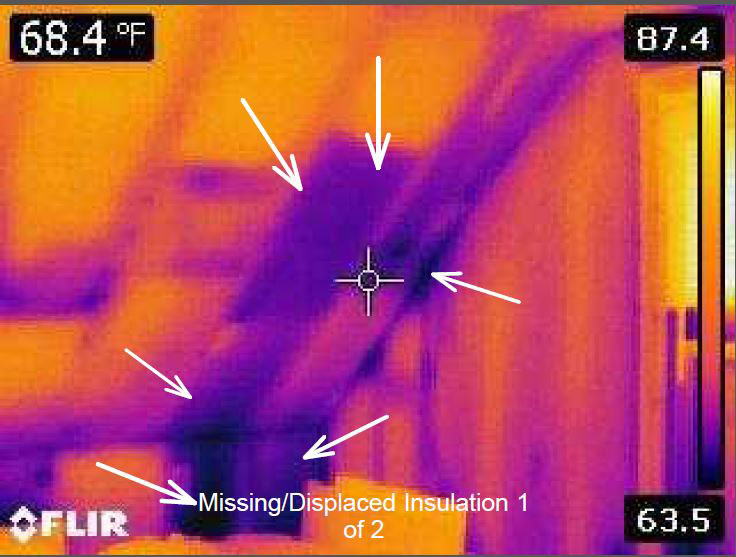 Missing/Displaced Insulation 1 of 2